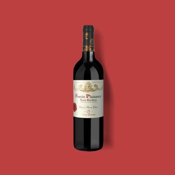 Cheval Quancard Fortin Plaisance rode wijn